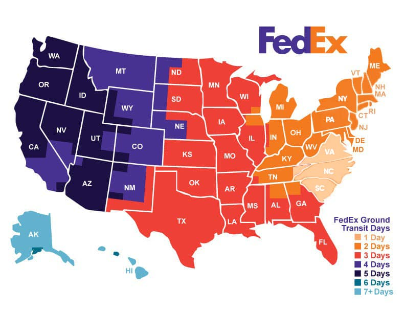 fedex free shipping