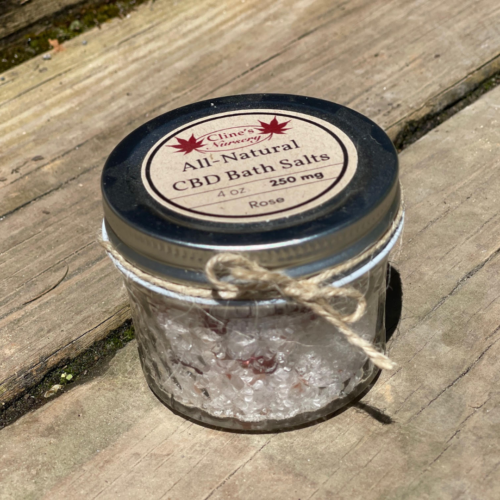 Rose CBD Bath Salts